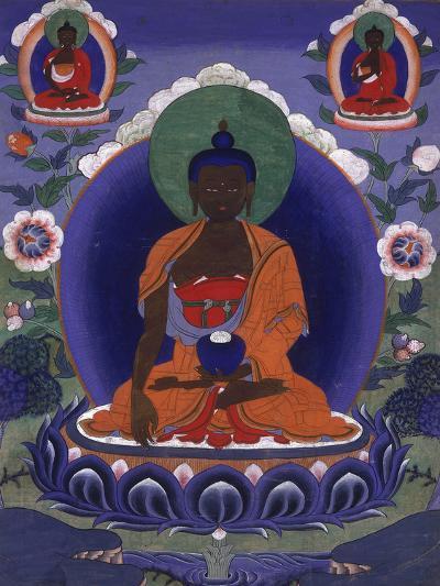 Thangka of the Historical Buddha--Photographic Print