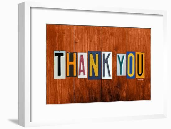 Thank You-Design Turnpike-Framed Giclee Print