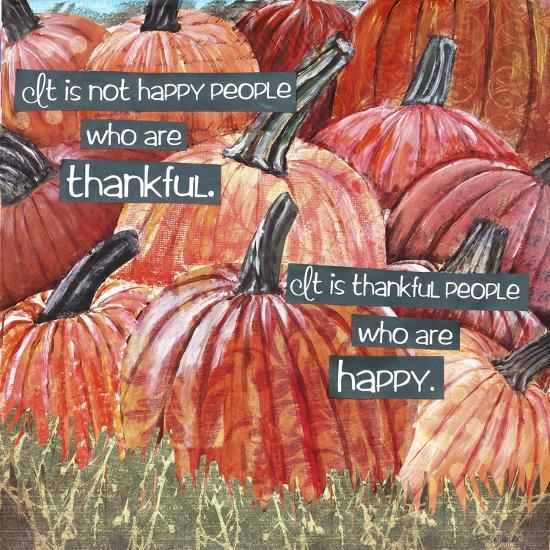 Thankful Pumpkins-Let Your Art Soar-Giclee Print