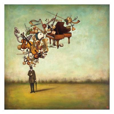 Thanks for the Melodies-Duy Huynh-Art Print