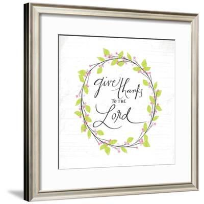 Thanks to the Lord-Katie Doucette-Framed Art Print