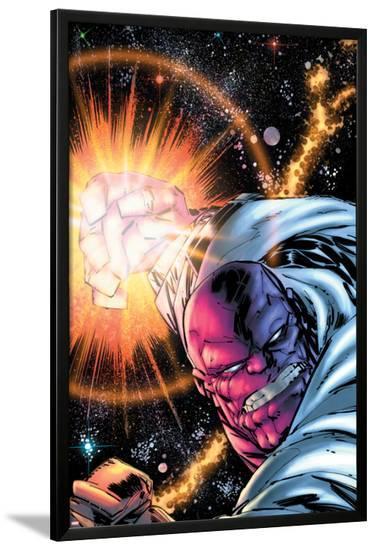 Thanos No.10 Cover: Thanos-Ron Lim-Lamina Framed Poster