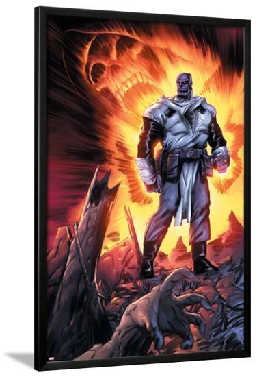 Thanos No.11 Cover: Thanos-Keith Giffen-Lamina Framed Poster
