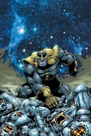 Thanos No.4 Cover: Thanos-Jim Starlin-Art Print