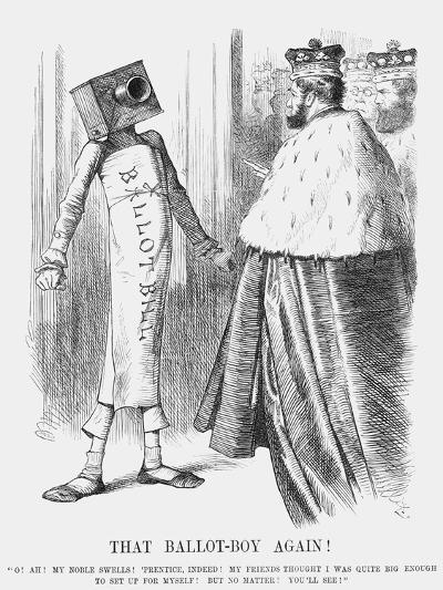 That Ballot-Boy Again!, 1872-Joseph Swain-Giclee Print