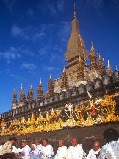 That Luang Celebration, Vientiane, Laos--Photographic Print