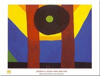 That Red One-Arthur G^ Dove-Art Print
