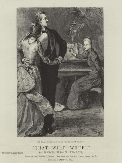That Wild Wheel-Sydney Prior Hall-Giclee Print