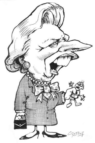 Thatcher-Gary Brown-Giclee Print