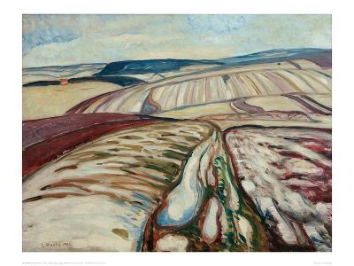 Thaw, 1906-Edvard Munch-Giclee Print