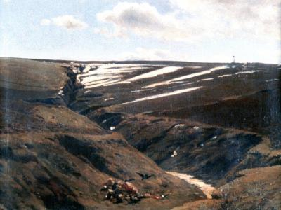 Thawing Snow, 1884-1895-Pal Szinyei Merse-Giclee Print