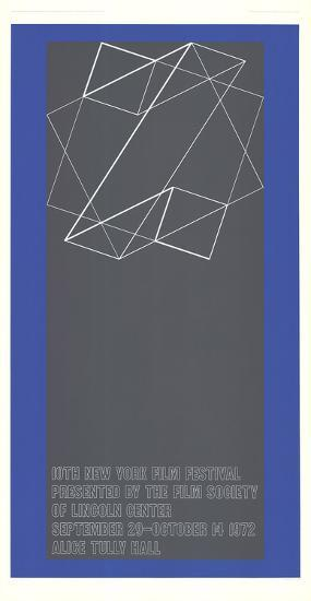 The 10th New York Film Festival-Josef Albers-Limited Edition