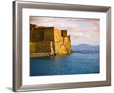 The 12th Century Castel Dell'Ovo-Glenn Beanland-Framed Photographic Print