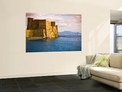 The 12th Century Castel Dell'Ovo-Glenn Beanland-Wall Mural