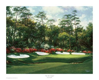 The 13th At Augusta-Larry Dyke-Art Print