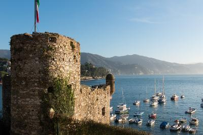 The 16th Century Castle, Santa Margherita Ligure, Genova (Genoa), Liguria, Italy, Europe-Carlo Morucchio-Photographic Print