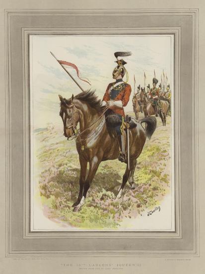 The 16th Lancers, (Queen's)-John Charlton-Giclee Print