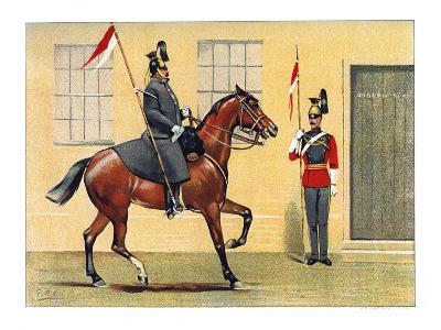 The 16th (Queen) Lancers, C1890-Geoffrey Douglas Giles-Giclee Print