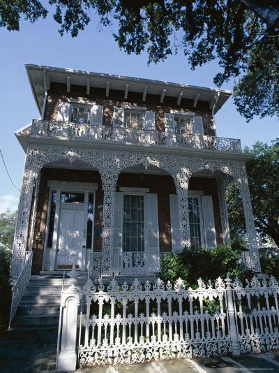 The 1860 Richards-Dar House, Alabama, USA-Robert Francis-Photographic Print