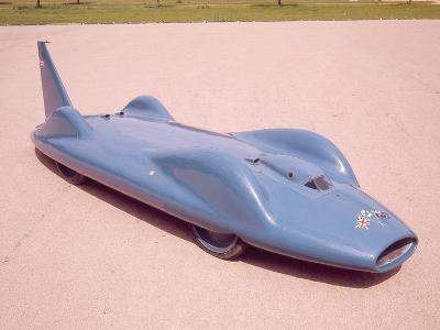 The 1961 Bluebird--Photographic Print