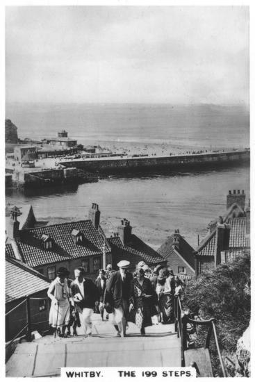 The 199 Steps, Whitby, 1936--Giclee Print