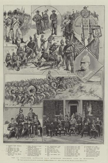 The 1st Volunteer Battalion Duke of Cambridge's Own Middlesex Regiment, Late 3rd Middlesex-Sir Frederick William Burton-Giclee Print