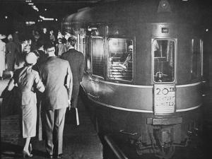 The '20th Century Limited' Luxury Train of the New York Central System, C.1938