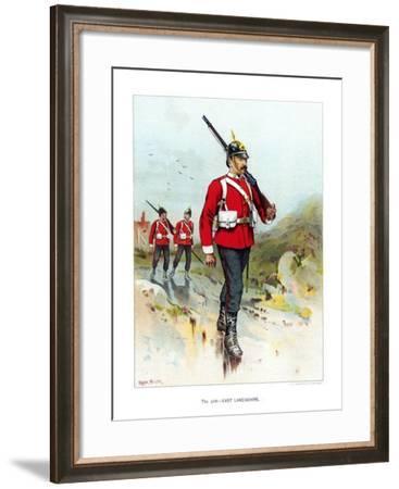 The 30th East Lancashire, C1890-Geoffrey Douglas Giles-Framed Giclee Print