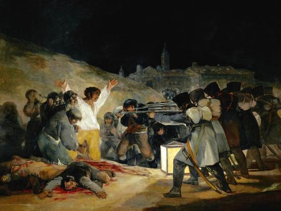 The 3rd of May In Madrid, 1814, Spanish School-Francisco de Goya-Giclee Print