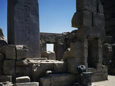 The 4th Pillar, Dating Back to Reign of Thutmose I, Temple of Amun, Karnak Temple Complex--Photographic Print