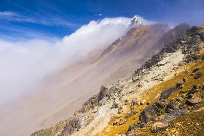 The 5126M Summit of Illiniza Norte Volcano, Pichincha Province, Ecuador, South America-Matthew Williams-Ellis-Photographic Print