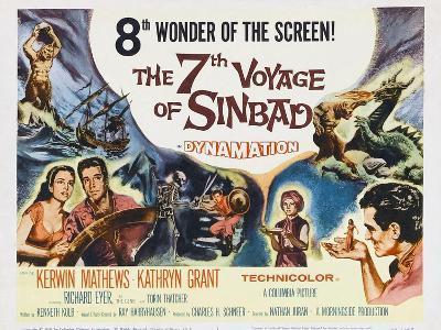 The 7th Voyage of Sinbad, 1958--Art Print