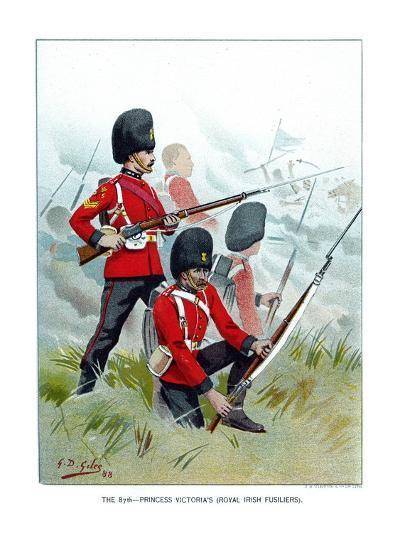 The 87th Princess Victoria's (Royal Irish Fusilier), C1890-Geoffrey Douglas Giles-Giclee Print