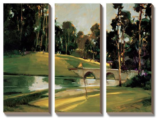 The 9th Tee-Ted Georschner-Canvas Art Set