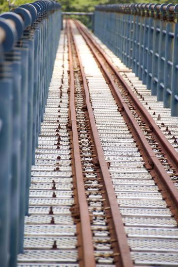 The Abandoned Railroad-david734244-Photographic Print