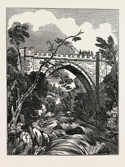 The Abbey Bridge. Rokeby, Yorkshire, UK--Giclee Print