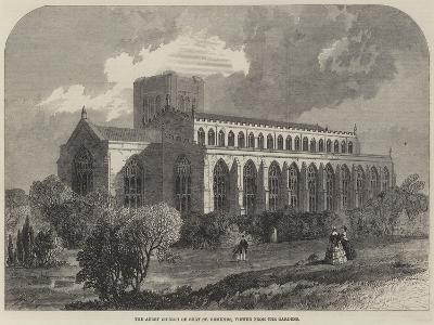 The Abbey Church of Bury St Edmunds, Viewed from the Gardens-Samuel Read-Giclee Print