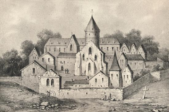 'The Abbey of St Antoine des Champs', 1915-Unknown-Giclee Print