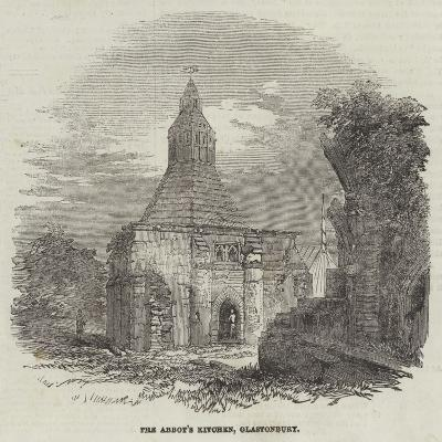 The Abbot's Kitchen, Glastonbury--Giclee Print
