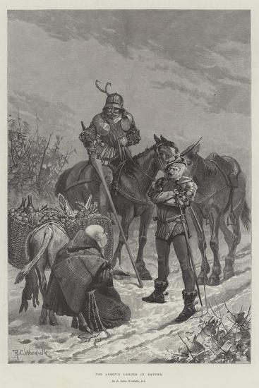 The Abbot's Larder in Danger-Richard Caton Woodville II-Giclee Print