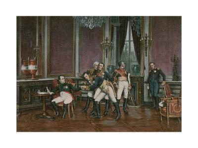 The Abdication--Giclee Print
