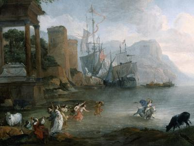 The Abduction of Europa, 17th Century-Hendrick van Minderhout-Giclee Print