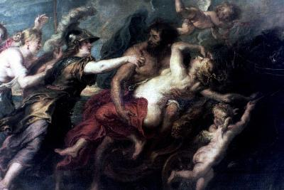 The Abduction of Proserpina, 1632-Peter Paul Rubens-Giclee Print