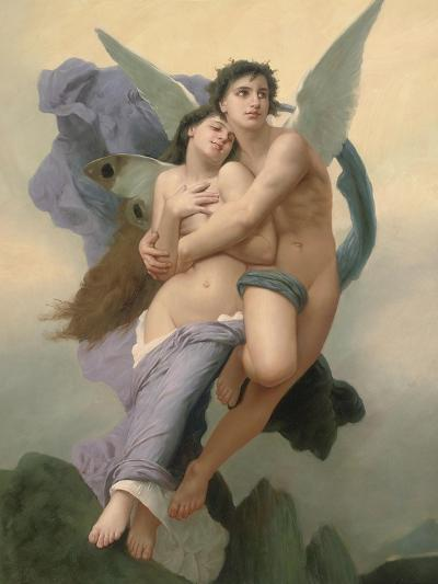 The Abduction of Psyche, 20th - 21st Century-William Adolphe Bouguereau-Giclee Print