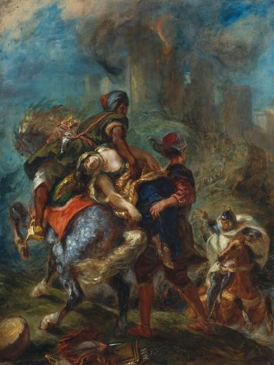 The Abduction of Rebecca, 1846-Eugene Delacroix-Giclee Print