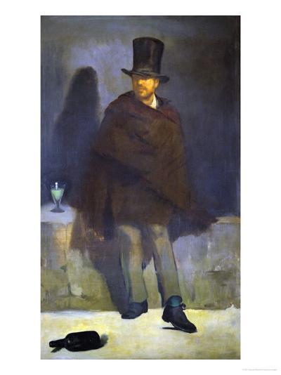 The Absinthe Drinker, 1858-59-Edouard Manet-Giclee Print