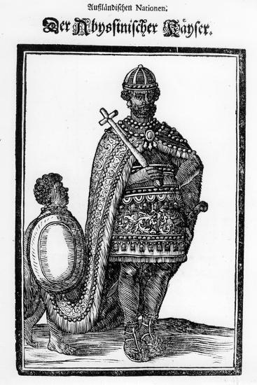 The Abyssinian Emperor, 17th Century--Giclee Print