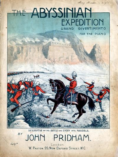 The Abyssinian Expedition, 1868--Giclee Print