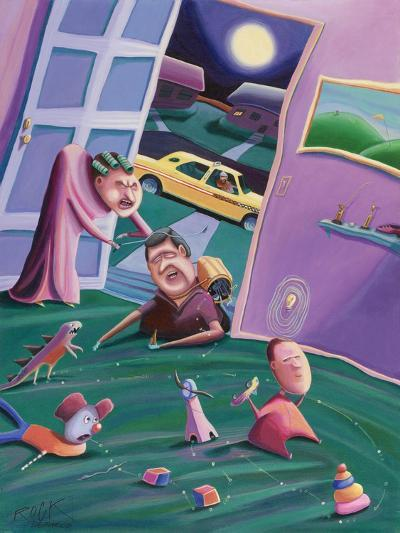The Accidental Creation of Miniature Golf-Rock Demarco-Giclee Print