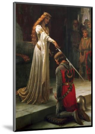 The Accolade, 1901-Edmund Blair Leighton-Mounted Giclee Print